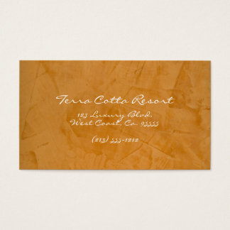 Terra Cotta Resort Business Card