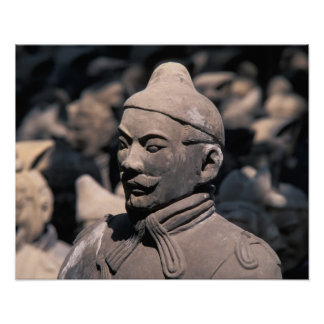 Terra Cotta warriors in Emperor Qin Shihuang's 2 Poster