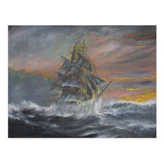 Terra Nova heads into a fierce Gale Dawn Postcard