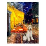 Terrace Cafe - wire Fox Terrier #1