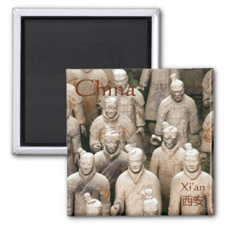 Terracotta Army in Xi'an/西安 China Magnet