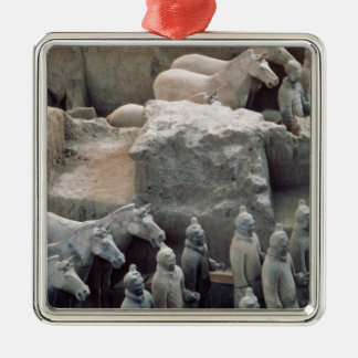 Terracotta Army, Qin Dynasty, 210 BC Christmas Ornament