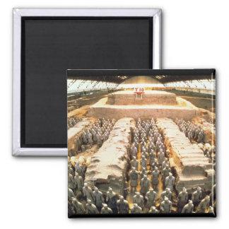 Terracotta Army, Qin Dynasty, 210 BC Magnet