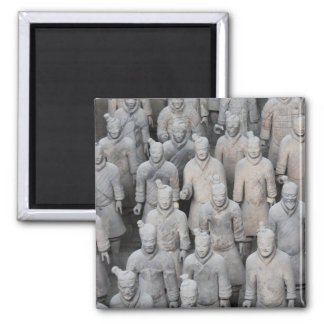 Terracotta Army Square Magnet