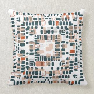 Terracotta beads cushion
