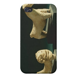 Terracotta lion and horse, Mohenjodaro 2300-1750 B iPhone 4 Covers