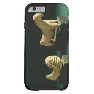 Terracotta lion and horse, Mohenjodaro 2300-1750 B Tough iPhone 6 Case