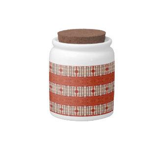 Terracotta Pattern Candy Dish