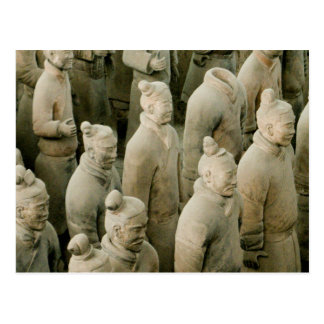 Terracotta Warriors Postcard