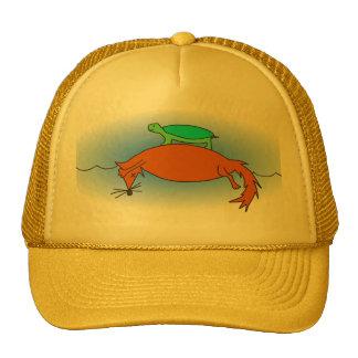 Terrapin on a fox cap
