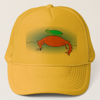 Terrapin on a fox trucker hat