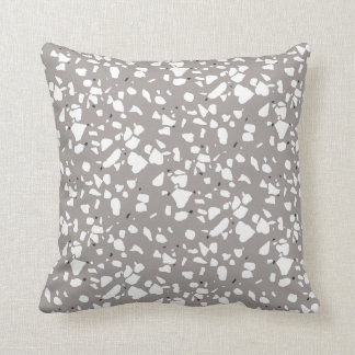 Terrazzo Match Your Decor Gray Accent Pillow