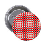 Terrazzo Pattern Pinback Button