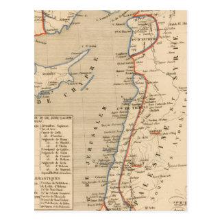 Terre Sainte depuis la deuxieme croisade Postcard