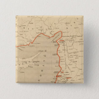 Terre Sainte en 1839 15 Cm Square Badge