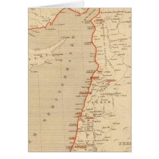 Terre Sainte en 1839 Card