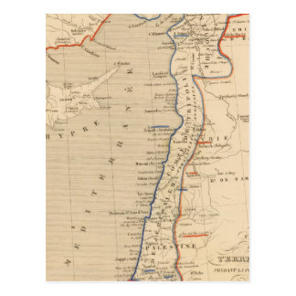 Terre Sainte, pendant la premiere croisade Postcard