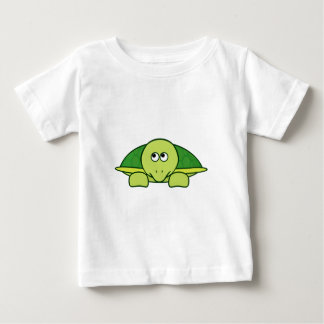 Terrence the Turtle / Tortouse Cute Cartoon Animal Baby T-Shirt
