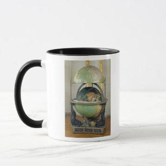 Terrestrial and celestial globe mug