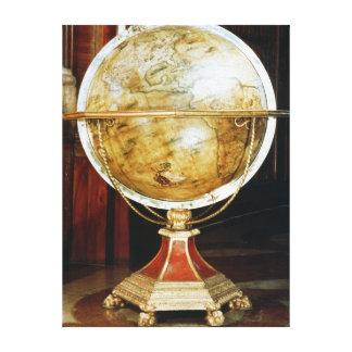Terrestrial globe, 1688 canvas print