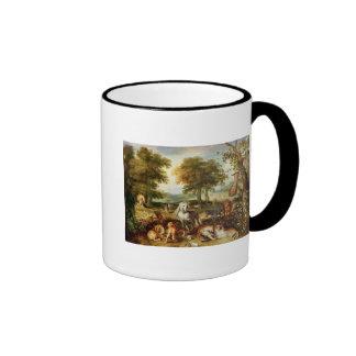 Terrestrial Paradise Ringer Coffee Mug