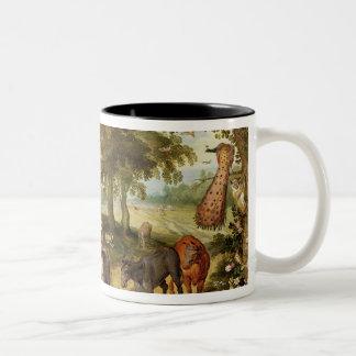 Terrestrial Paradise Two-Tone Coffee Mug
