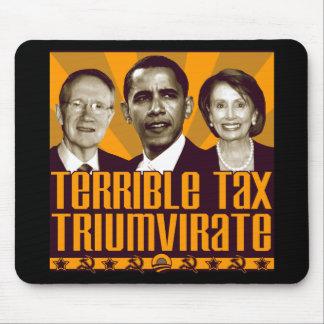 Terrible Tax Triumvirate Mouse Pad