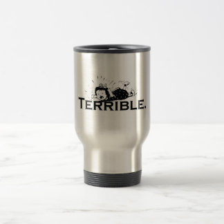 Terrible Temper Tantrum Retro Girl Stainless Steel Travel Mug