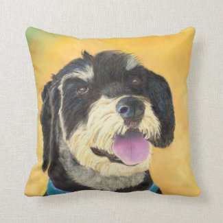 Terrier cushion (a421) title=