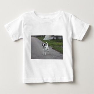 Terrier Dog looking Cute! Baby T-Shirt