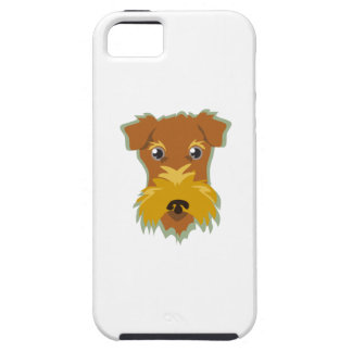 Terrier Head iPhone 5 Covers