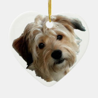 TERRIER MIX CHRISTMAS ORNAMENT