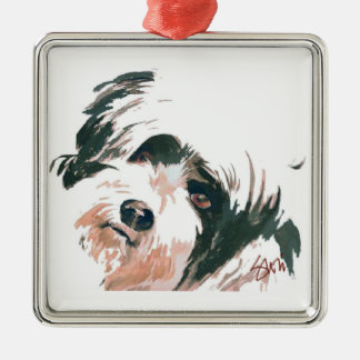 Terrier ornament
