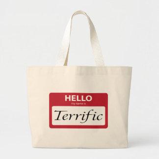 terrific 001 jumbo tote bag