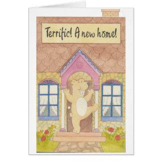 Terrific! A New Home! Card