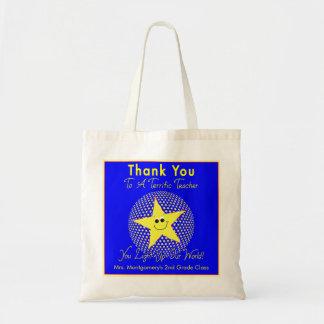 Terrific Star Teacher Thank You Budget Tote Bag