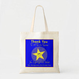 Terrific Star Teacher Thank You Tote Bag