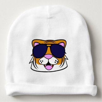 Terrific Tiger Baby Beanie