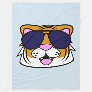Terrific Tiger Fleece Blanket
