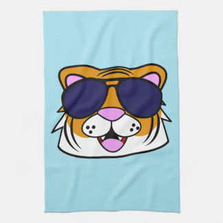 Terrific Tiger Tea Towel
