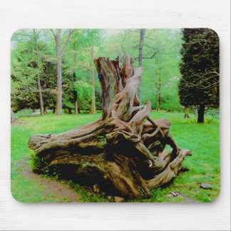 Terrific Twisted Tree Trunk Mouse Pad