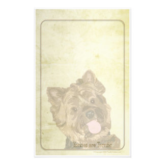 Terrific Yorkies Stationery Design