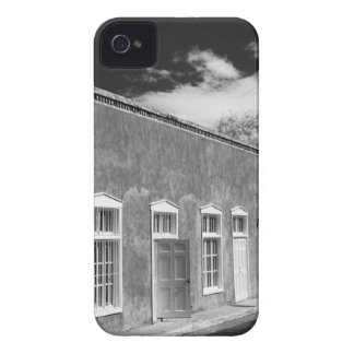 Territorial style architecture, Santa Fe, New iPhone 4 Covers
