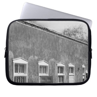 Territorial style architecture, Santa Fe, New Laptop Computer Sleeves