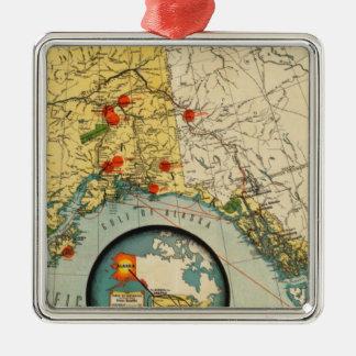Territory of Alaska Christmas Ornament