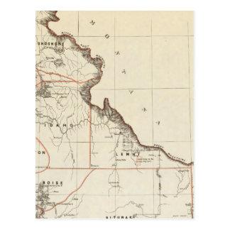 Territory Of Idaho Postcard