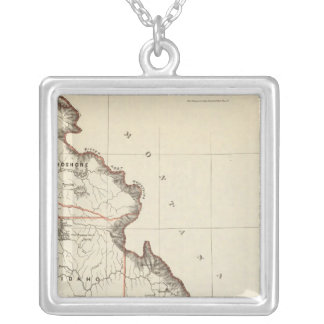 Territory Of Idaho Silver Plated Necklace