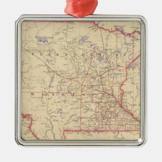 Territory of Minnesota Christmas Ornament