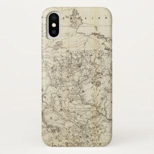 Territory of Minnesota Map (1849) Case-Mate iPhone Case