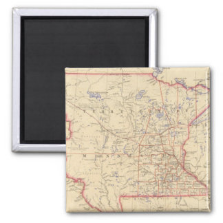 Territory of Minnesota Square Magnet